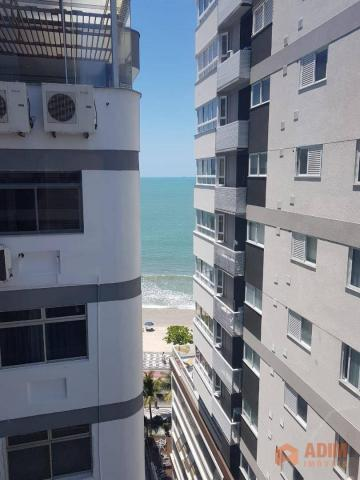 Apartamento quadra mar na Barra Sul, 2 dormitórios sendo 1 suíte, opção para 3º dormitório - Foto 3