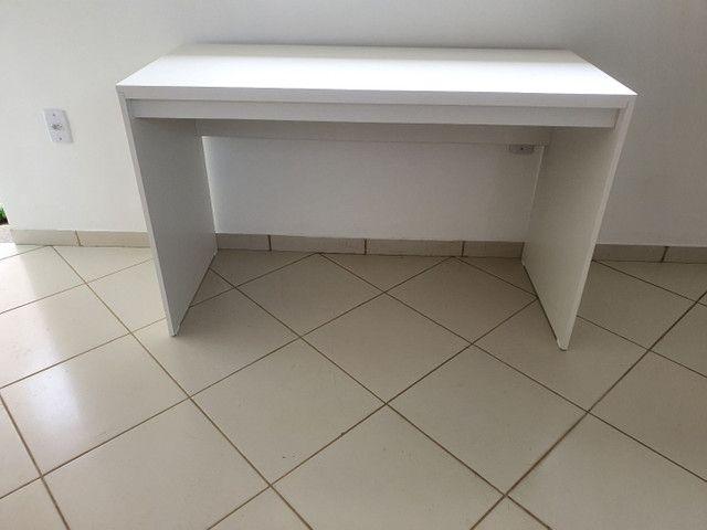 Vendo mesa branca NOVA  - Foto 4