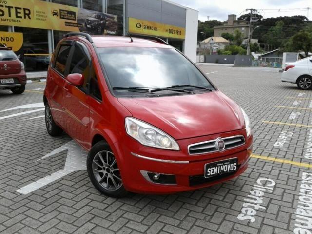 FIAT IDEA ESSENCE 1.6 16V DUALPLUS Vermelho 2014/2015