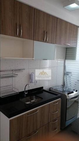 Apartamento com 2 dormitórios à venda, 47 m² por R$ 181.000 - Nova Aliança - Ribeirão Pret - Foto 4