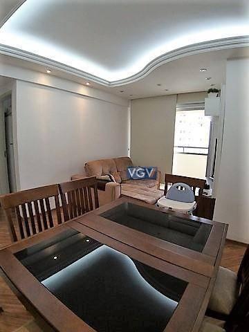 Apartamento com 2 dormitórios à venda, 54 m² por R$ 389.000,00 - Vila das Mercês - São Pau - Foto 2