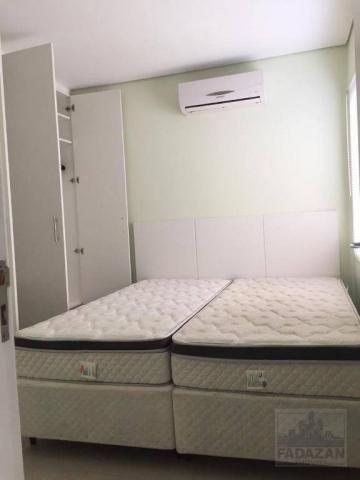 Studio com 1 dormitório para alugar, 38 m² por R$ 1.400,00/mês - São Francisco - Curitiba/ - Foto 11