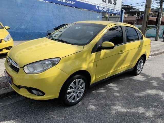 Fiat grand siena tetra 15/15 ex taxi, aprovação imediata, basta ter nome limpo!!!! - Foto 3