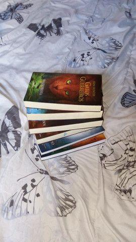 Vendo ou troco coleção de livros Gatos Guerreiros - Foto 2