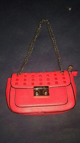 Desapego bolsa rosa