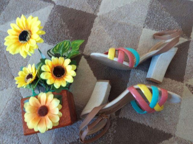 Sapatos N° 35,36 usados apenas uma vez  - Foto 6