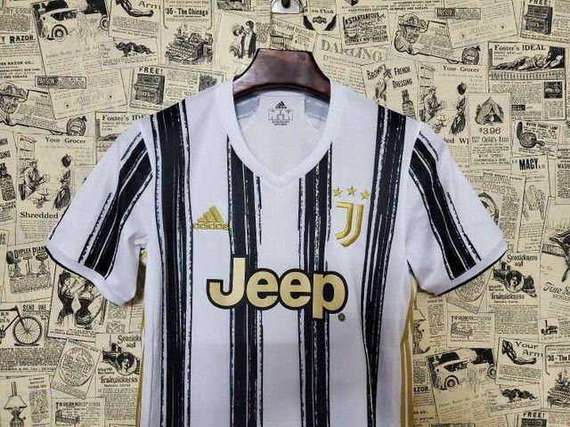 Camisa Juventus Uniforme I Temporada 2020 2021 - Foto 2