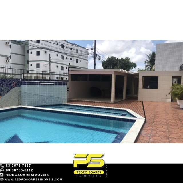 Apartamento com 4 dormitórios à venda, 96 m² por R$ 230.000 - Água Fria - João Pessoa/PB - Foto 2