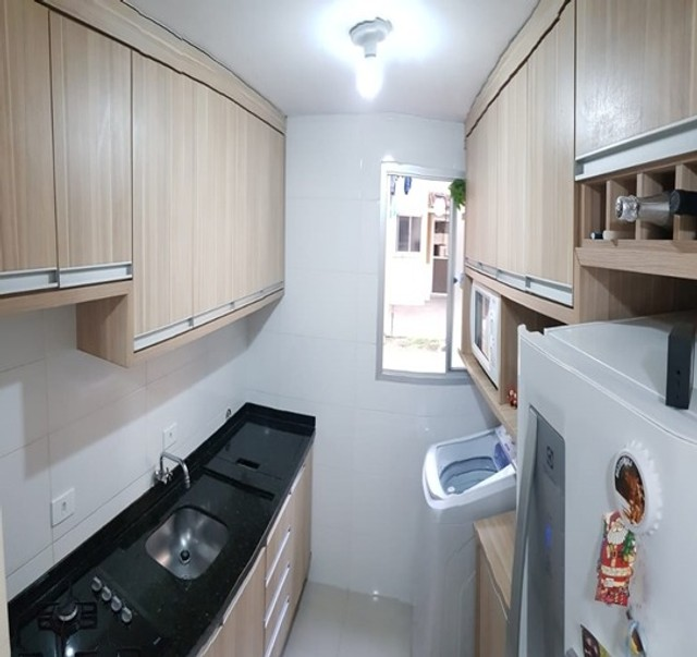 Apartamento_com 3 quartos semi mobiliado no Fazendinha - Foto 8