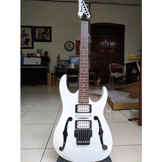 Vendo ou troco Guitarra Ibanez Pgm3 linda bem cuidada  - Foto 3
