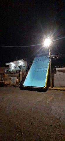 ?piscina de fibra na promoção ?