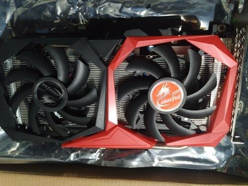 Placa de vídeo colorful geforce gtx1660 super nb 6gb gddr6