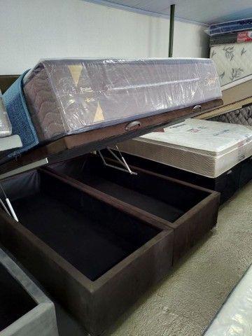 Box baú, base baú, cama Box baú novos reforçado - Foto 3