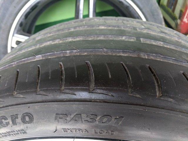 Roda + pneu aro 20 CRUIZER e TRACKER 5x105 - Foto 5