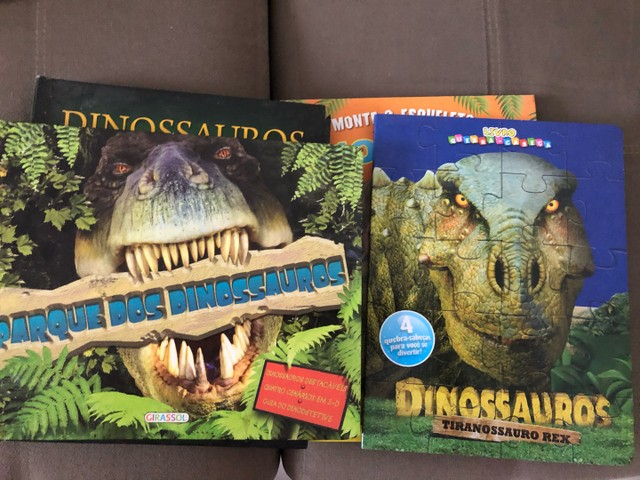 Livros capa dura Dinossauros - Foto 2
