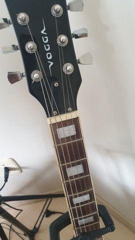 Guitarra Les Paul Vogga Standard + Cabos e GuitarLink - Foto 3