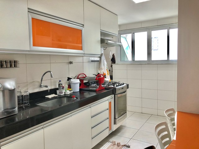 Apartamento com 3/4 completo de armários na ponta verde  - Foto 12