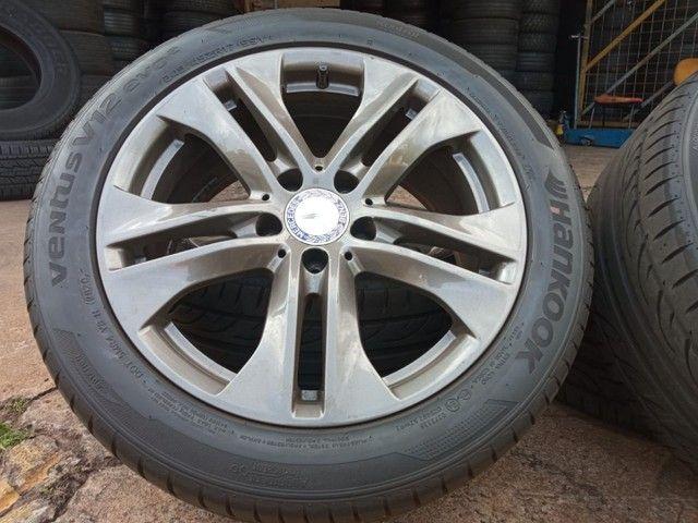 Jogo de roda e pneus praticamente zero aro17 Mercedes 180 - Foto 2