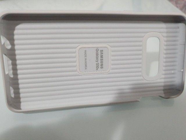 Capa original militar Samsung protective standing s10e sem uso - Foto 4
