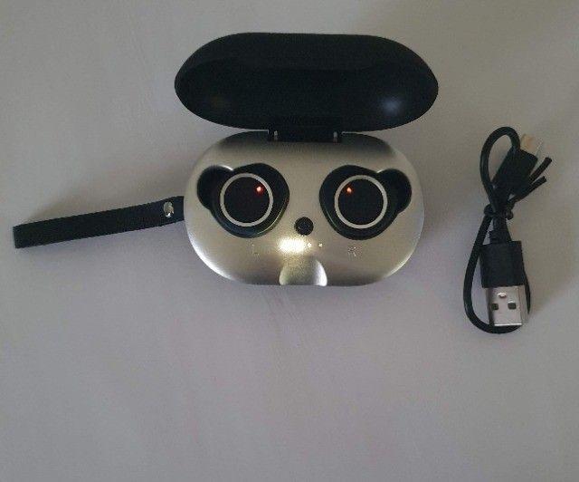 Fone De Ouvido Bluetooth Sem Fio Estereo Botão Touch - Foto 2