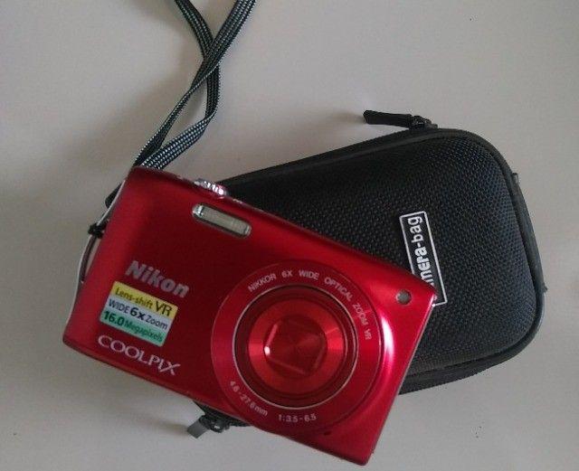 Câmera digital Coolpix S3300 Nikon - Foto 3