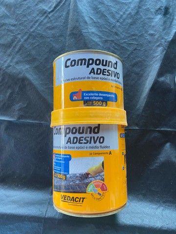 Cola compound adesivo - Foto 3