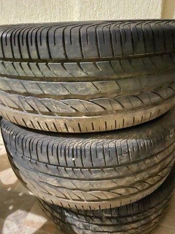 Jogo de roda cruze 17 + pneu turanza - Foto 2