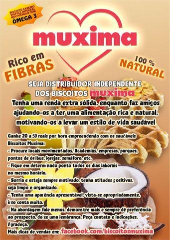 Seja Distribuidor Independente dos Biscoitos Integrais Muxima - Foto 6