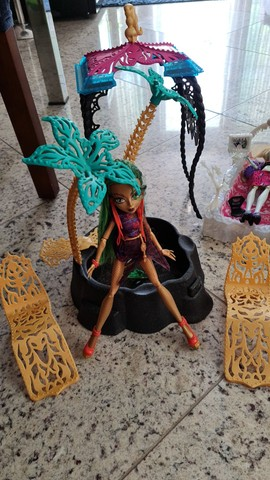 Kit monster high bonecas - Foto 6