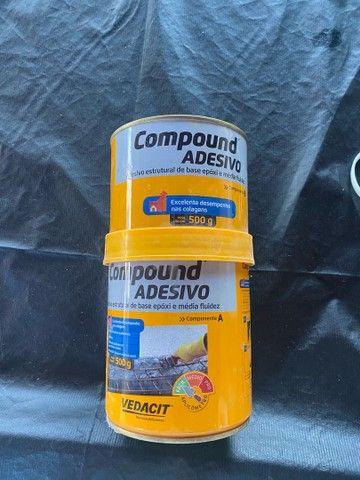 Cola compound adesivo