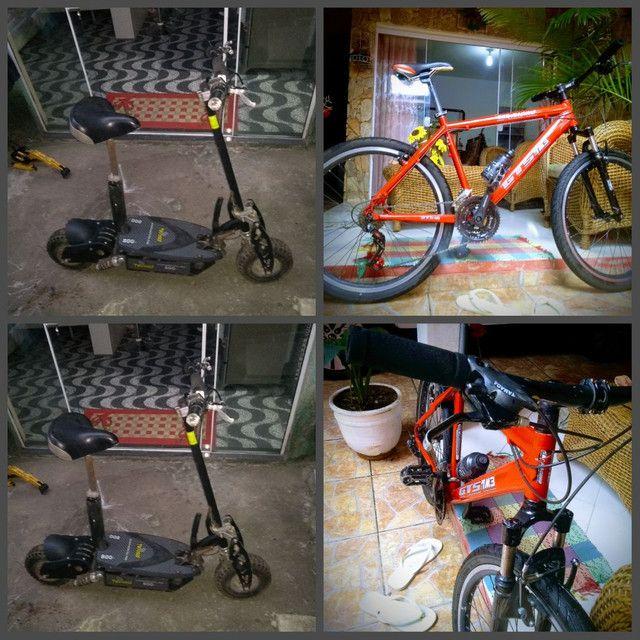 Troco por bicicleta aro 29 ou vendo