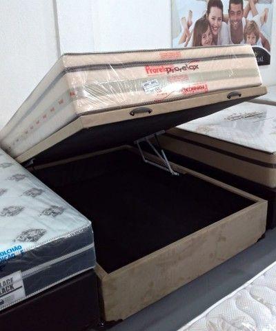 Cama baú, box baú, base baú ,cama box baú.novos reforçado  - Foto 2