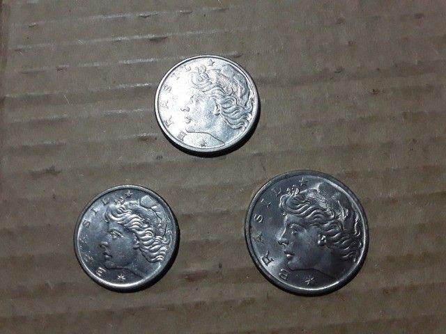 Moedas:Serie centavos de 1975 - Foto 3
