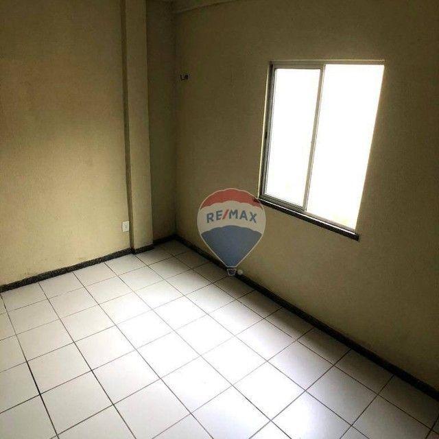 Apartamento com 2 dormitórios para alugar, 53 m² por R$ 790,00/mês - Edson Queiroz - Forta - Foto 13