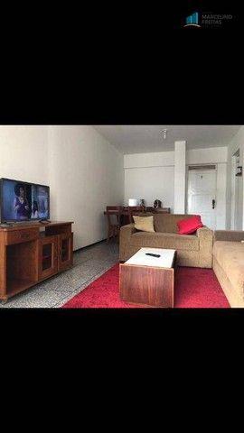 Flat com 1 dormitório para alugar, 52 m² por R$ 1.600,00/mês - Praia de Iracema - Fortalez - Foto 4