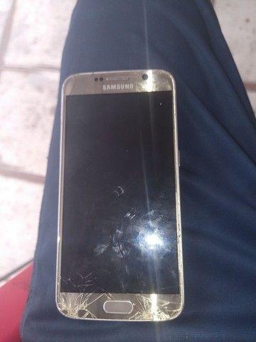 Vendo um Samsung Galaxy s7 presisamdo trocar o display - Foto 2