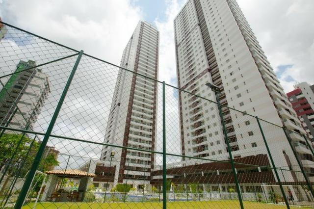 Apartamento 03 quartos boa viagem condomínio clube Riviera 71m² nascente