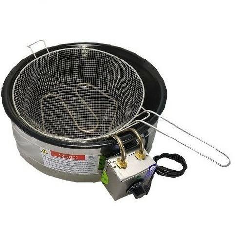 Fritadeira elétrica 3,5 L com Termostato Nova c/ Garantia - Foto 2