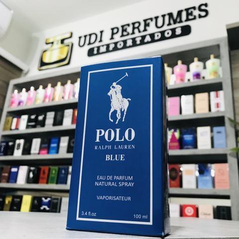 Perfume Polo Blue Ralph Lauren 100ml - Passo cartão de crédito!!!