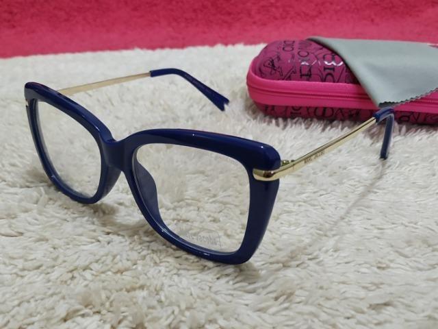 Armação Marc Jacobs feminina azul - Bijouterias, relógios e ... 2ce3824408