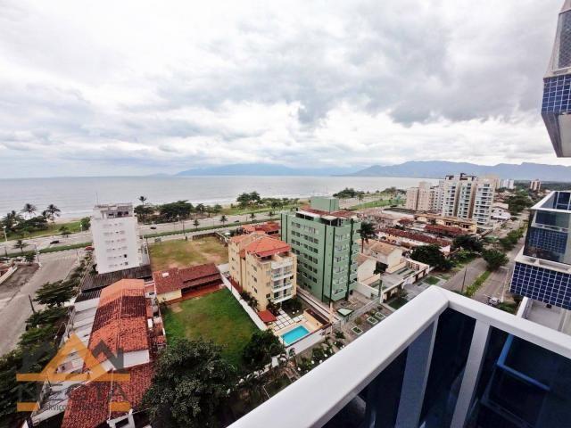 Apartamento com 3 dormitórios à venda, 127 m² por r$ 970.000,00 - indaiá - caraguatatuba/s