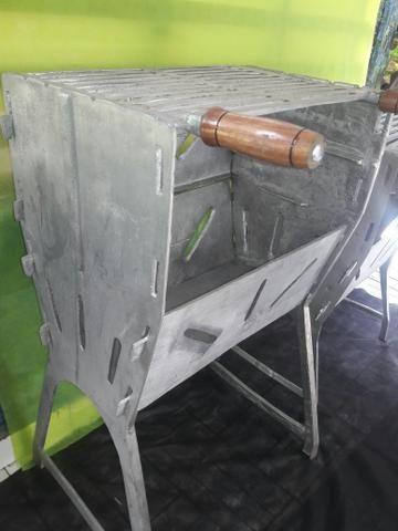 Churrasqueiras G fechada aluminio fundido