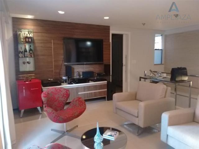 Cobertura com 3 dormitórios à venda, 120 m² por r$ 850.000 - meireles - fortaleza/ce - Foto 2