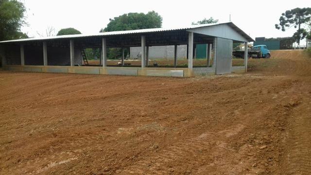 Barracão pré-moldados de concreto, galpões, granjas, estruturas metálicas - Foto 4