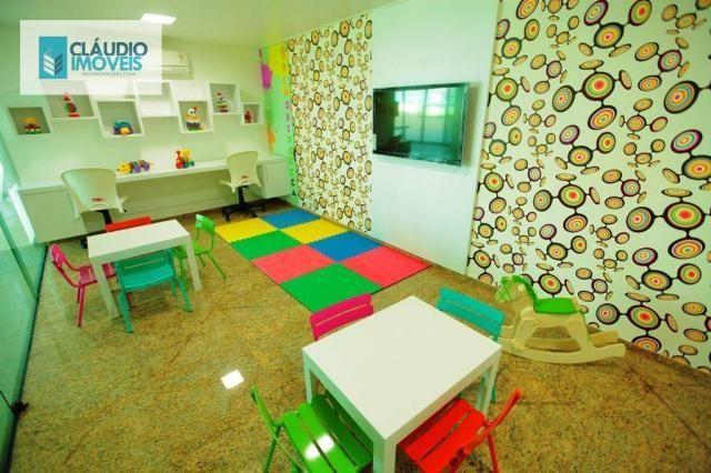 Apartamento com 3 dormitórios à venda, 83 m² por r$ 488.000 - jatiúca - maceió/al - Foto 4