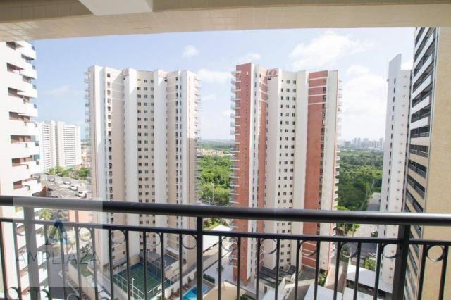 Apartamento com 4 dormitórios à venda, 220 m² por R$ 1.997.000 - Cocó - Fortaleza/CE - Foto 18