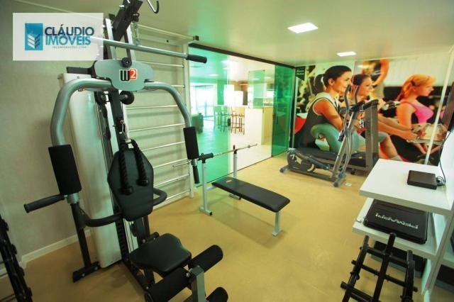 Apartamento com 3 dormitórios à venda, 83 m² por r$ 488.000 - jatiúca - maceió/al - Foto 5