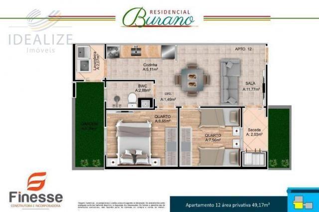 Apartamento à venda com 2 dormitórios em Afonso pena, São josé dos pinhais cod:1726522 - Foto 7