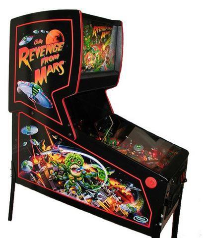Máquina Pinball Fliperama Arcade Revenge From Mars Bally - Foto 6