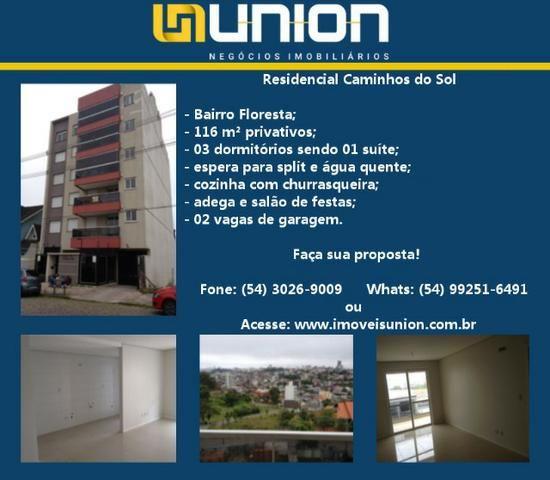 Oferta Imóveis Union! Apartamento novo próximo ao Iguatemi, com 116 m² e vista panorâmica!